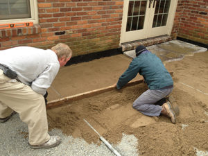 Garden Patio Build - Boone Gardiner Landscape and Farm in LaGrange Ky